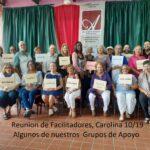 Reunion de Facilitadores de Grupos de A[poyo, 10/19 en Carolina,