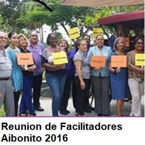 REUNION DE FACILITADORERS AIBONITO, 2016