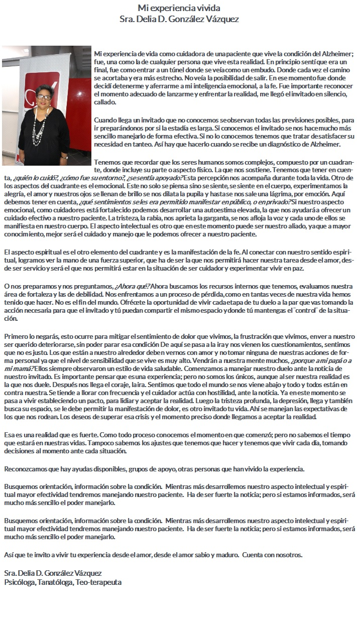 DRA DELIA GONZALEZ VAZQUEZ